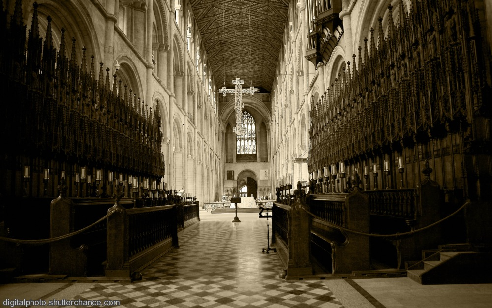 photoblog image Choir Stalls