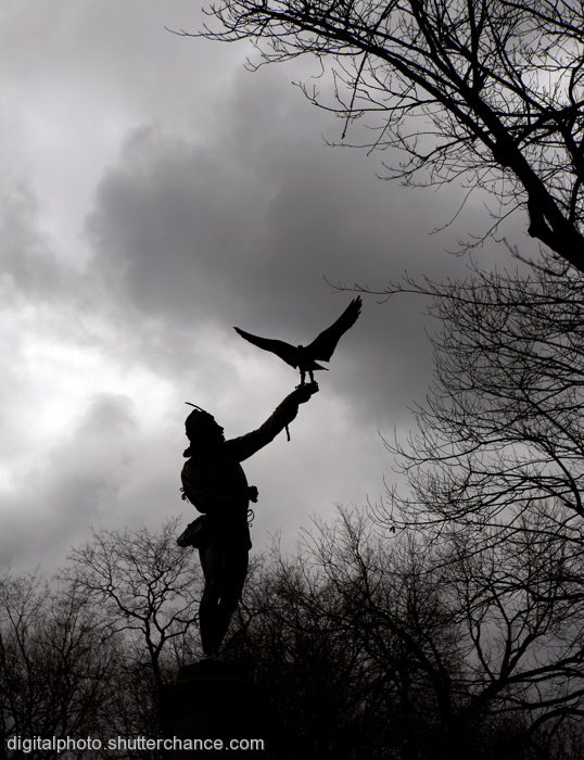 photoblog image The Falconer:  Central Park